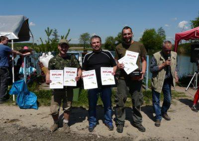 Rybářské závody dospělých – Memoriál Josefa Vidourka – 2016