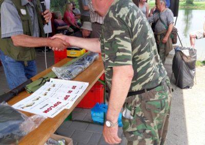 Rybářské závody dospělých – Memoriál Josefa Vidourka – 2018